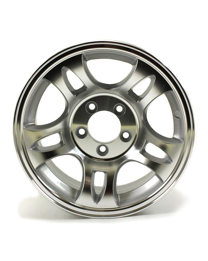 HWT S556545 15X6 5//4.5 Aluminum S5 Trailer Wheel