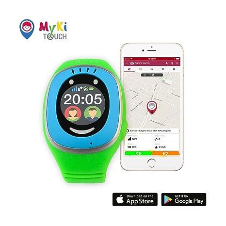 4e72de1e35 MyKi Orologio GPS per Bambini Con localizzatore GPS, telefono con App SOS  ed Orologio Smart