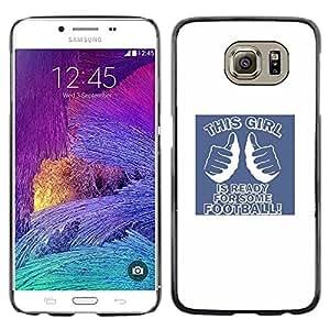 iKiki Tech / Estuche rígido - Quote Party Frat Uni - Samsung Galaxy S6 SM-G920