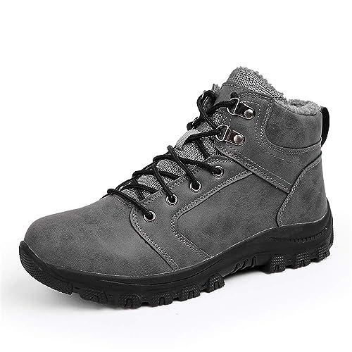 Botas de Nieve Hombre Impermeable Invierno Calientes Botines Zapatos: Amazon.es: Zapatos y complementos