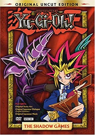 Amazon Com Yu Gi Oh Vol 1 The Shadow Games Uncut Artist Not Provided Movies Tv