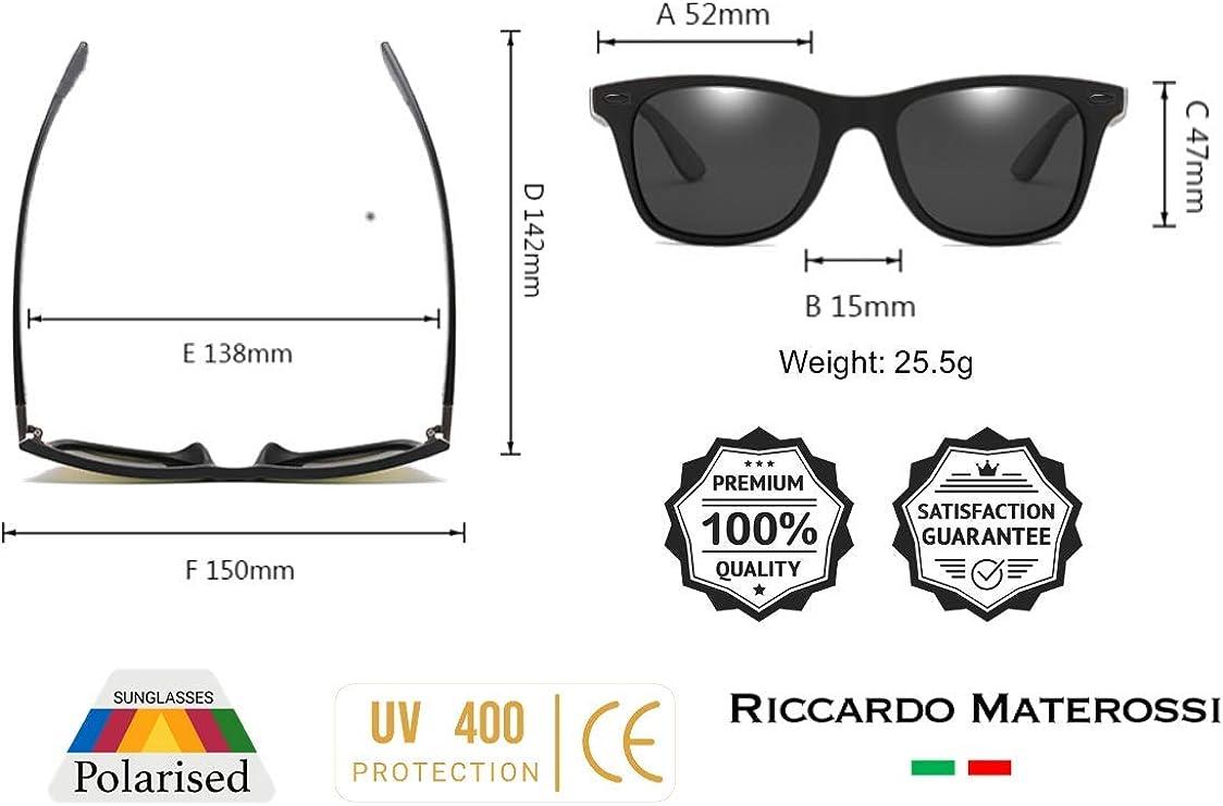2 Pack Sunglasses Polarised Square Sports Driving 100/% Polarised UV400 Unisex UK Based Brand Durable Frames /& Premium Polarised Lenses