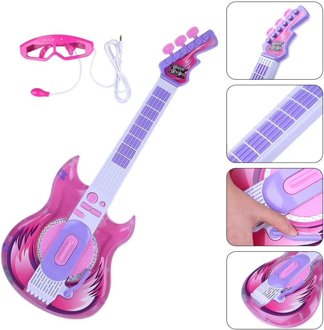 Koyae Guitarra Electrica Niños, Guitarra Juguete Infantil con ...