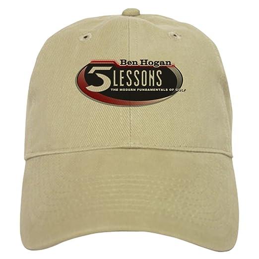 Amazon.com  CafePress - Ben Hogan s 5 Lessons - Baseball Cap with  Adjustable Closure ad5c09d8b48