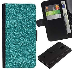 [Neutron-Star] Modelo colorido cuero de la carpeta del tirón del caso cubierta piel Holster Funda protecció Para Samsung Galaxy S5 Mini (Not S5), SM-G800 [TV Broken trullo textura áspera Arte]