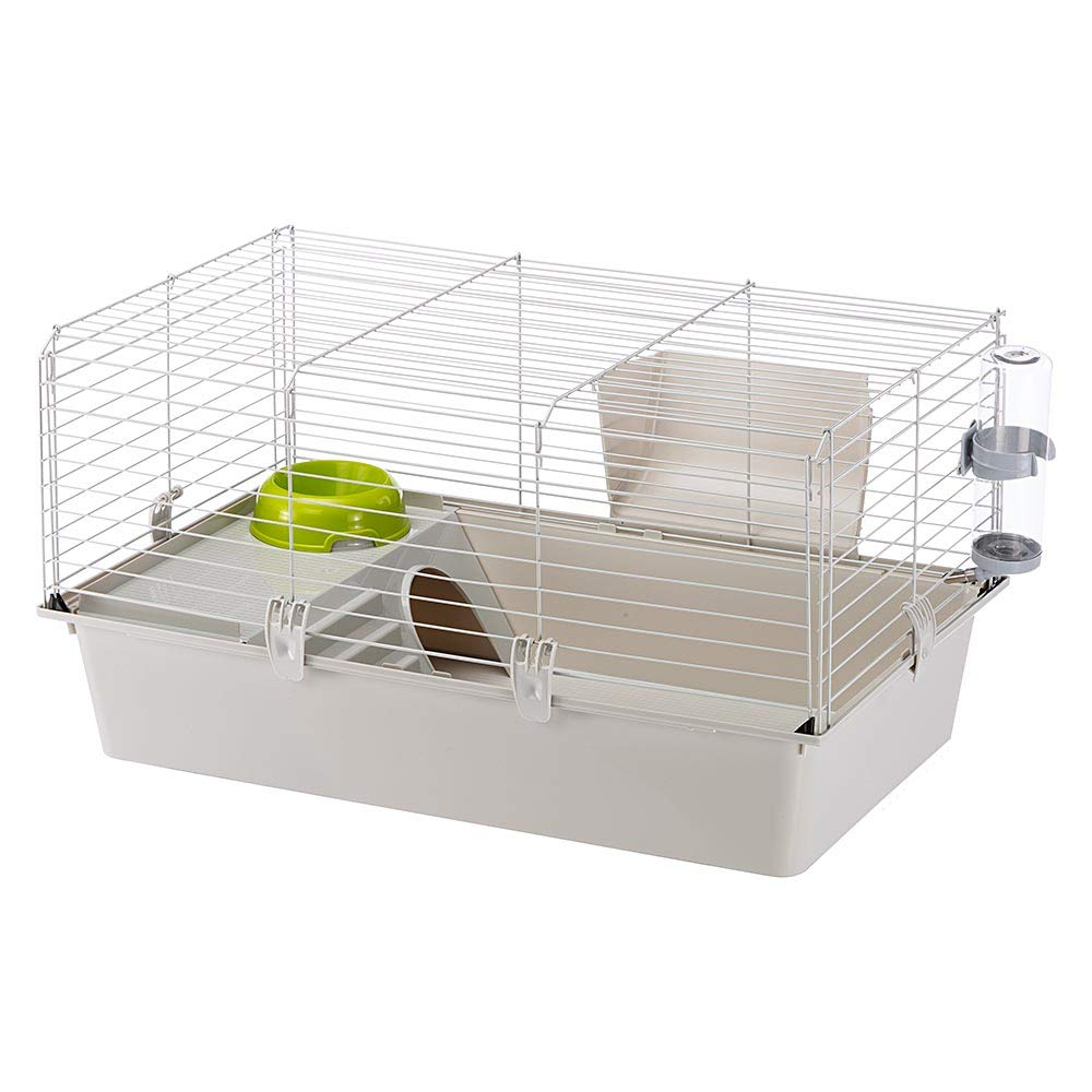 Ferplast Cavie Guinea Pig Cage & Rabbit Cage | Pet Cage Includes All Accessories to Get You Started & a 1-Year Warranty by Ferplast
