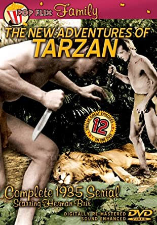 Amazon Com The New Adventures Of Tarzan Complete 1935 Serial