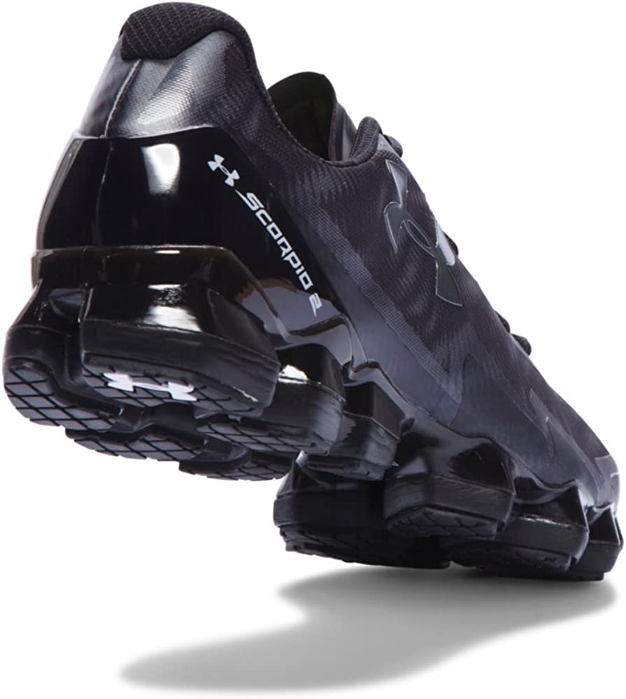 Under Armour Men S Ua Scorpio 2 Running Shoes 7 5 Black Amazon Co Uk Shoes Bags