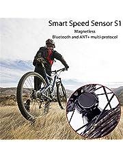 Sensor de velocidad, fundido Power inteligente Dos Protocolo de bicicleta Wireless Bluetooth Ant Ciclismo Sensor para encontrar la conducción GES chwi los lavados, compatible con Mountian bicicleta