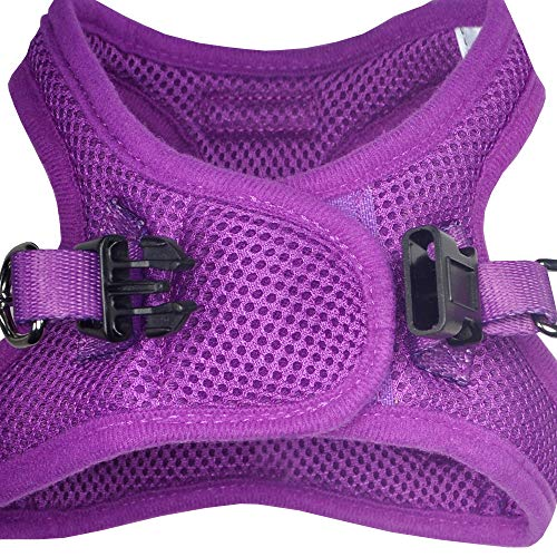 Downtown Pet Supply No Pull, Step in Adjustable Dog Harness with Padded Vest, Easy to Put on Small, Medium and Large Dogs