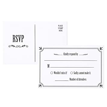 reply cards for wedding