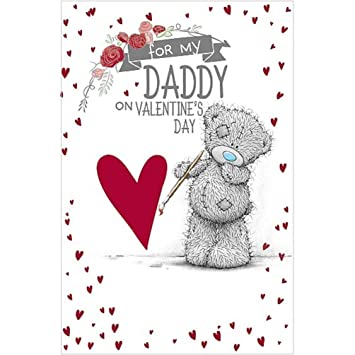 Me To You For My Daddy Valentineu0027s Day Card   Tatty Teddy Bear