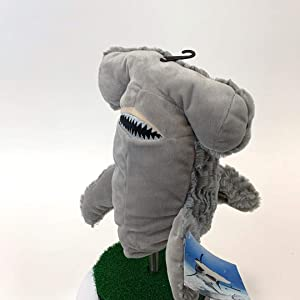 Creative Covers for Golf 65860 Cutter The Hammerhead Golf Head Cover, Gray