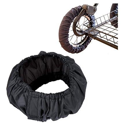 2 pcs Fundas para ruedas de cochecito de bebé/cochecito de paseo Cochecito de bebé rueda ...