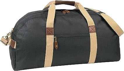 Two-tone Deluxe Travel Bag Khaki