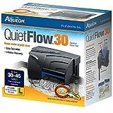 Aqueon QuietFlow LED Pro filtros de alimentación para Acuario, Filtro de energía 30, Negros & Grises, Size 30-200GPH