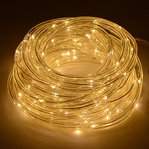 led battery string light 16 5ft warm white indoor outdoor holiday