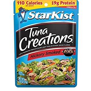 StarKist Tuna Creations, Hickory Smoked Variety – 2.6 Ounce (Pack of 24)