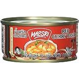 Maesri Thai red curry - 4 oz x 2 cans (4 Pack)