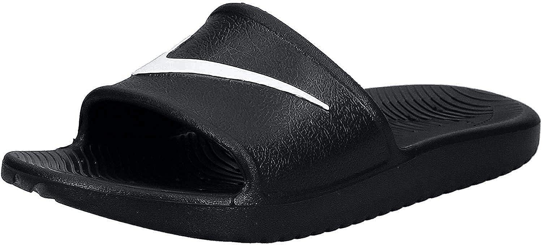 NIL7E|#Nike Men's Kawa Shower Blk-Wht