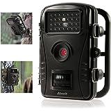 """Fotocamera caccia, ABASK Fotocamera caccia Per il gioco e la caccia Scouting con il caso impermeabile Digital 2.4 """"LCD schermo HD 50 ft Distanza di visione notturna (Nero)"""