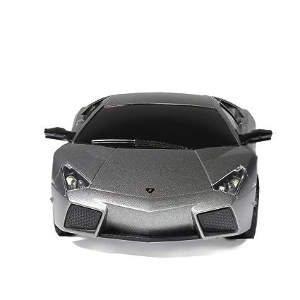 Lamborghini Reventon Radio Remote Control Sport Racing Car RC 1 24  Scale,Silver Grey