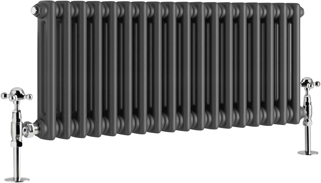 NRG 300 x 425mm Traditional Column Radiators Horizontal Central Heating Cast Iron Rads