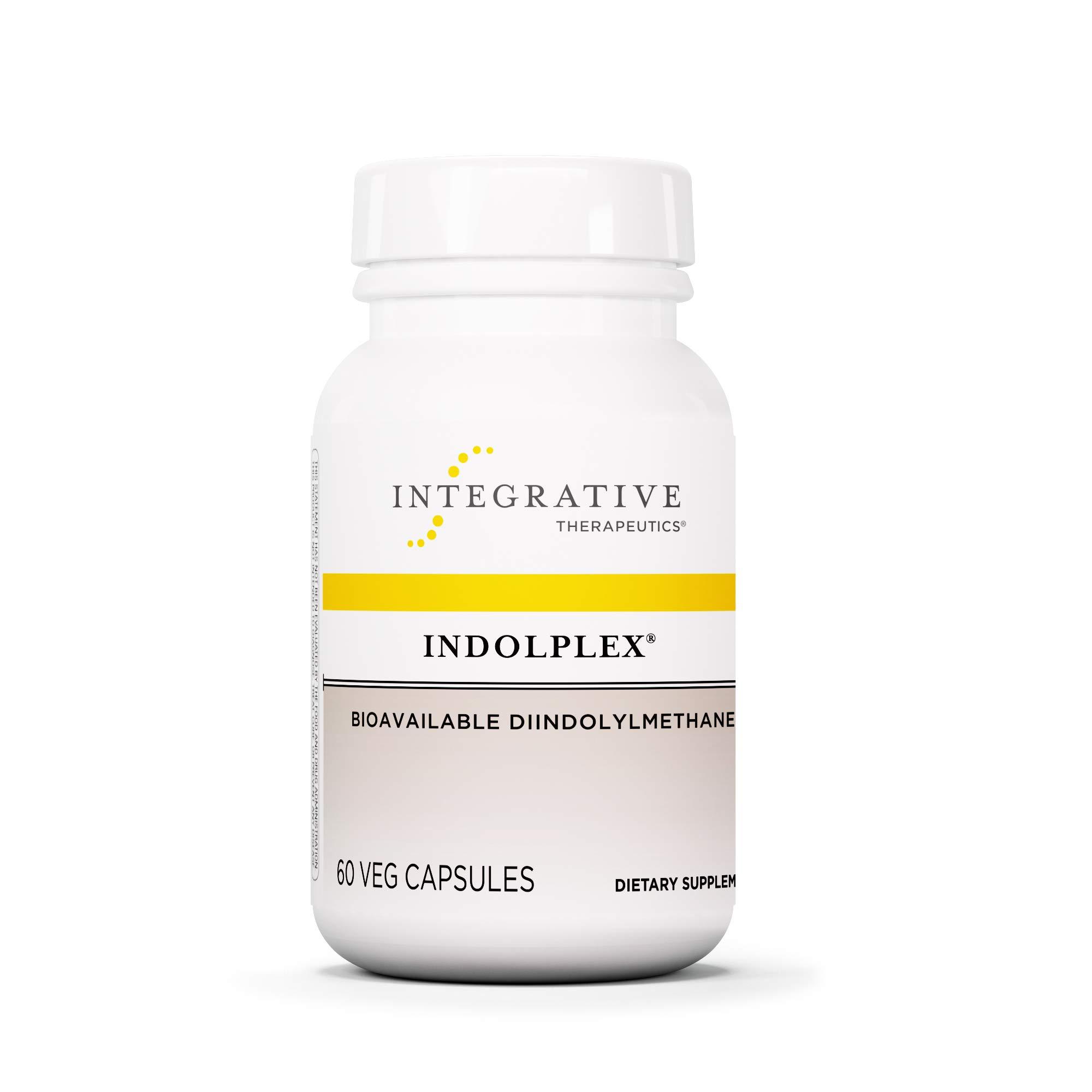 Integrative Therapeutics - Indolplex - Bioavailable DIM Supplement - Supports Healthy Estrogen Metabolism - 60 Capsules