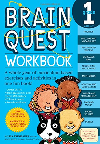 brain quest math - 2