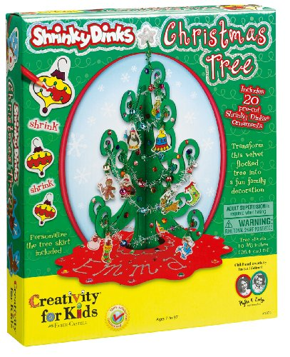 Creativity for Kids Shrinky Dinks Christmas Tree