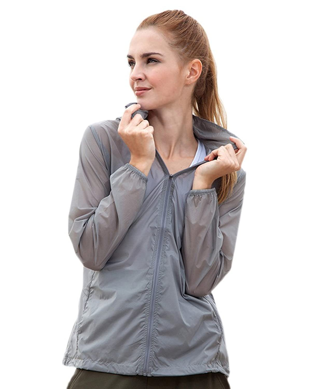 Women's Super Lightweight Rain Jacket UPF 40+ Skin Coat#3110
