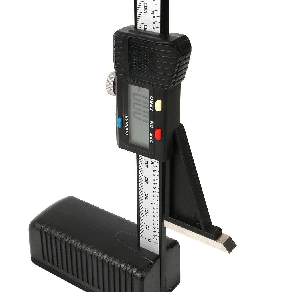 Longsw Digitaler Höhenmesser, 0-150 0-150 0-150 mm 6 Zoll, elektronisches Werkzeug zur Messung von Holz B07FQ6F9WW | Wirtschaftlich und praktisch  656690