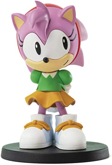 Amazon Com First 4 Figures Sonic The Hedgehog Boom8 Volume 5 Amy Pvc Figure Multicolor Toys Games