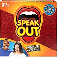 AdiChai Speak Out Challenge Game for Kids with 10 Mouth Pieces