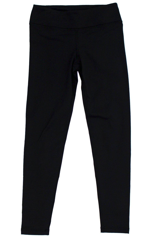 935a2fb6f4aec Galleon - 90 Degree By Reflex - Kids Girls Juniors - Fleece Lined Yoga  Leggings - Black L (12)