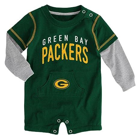 533a879002a Amazon.com   Outerstuff NFL Green Bay Packers Newborn Legacy Romper ...
