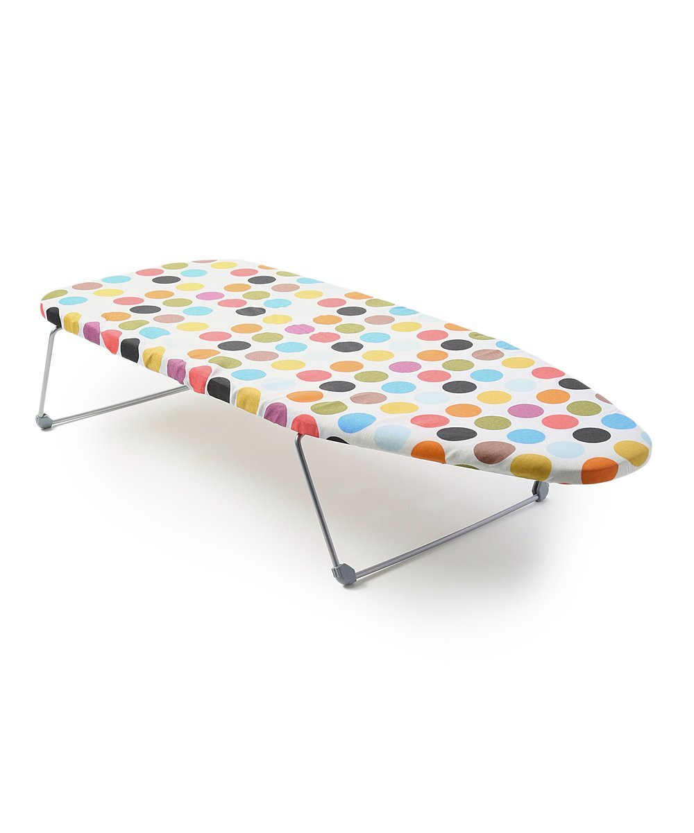 Perilla Mini Portable Table Top Ironing Board with Folding Legs, 12 by 30''