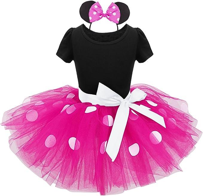 MSemis Vestido de Fiesta para Bebés Niñas Disfraz Senorita ...