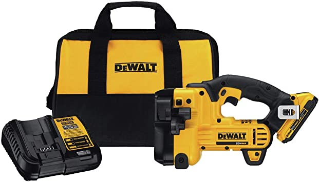 Bag Dewalt DCS350D1 Cordless Threaded rod cutter kit w battery charger