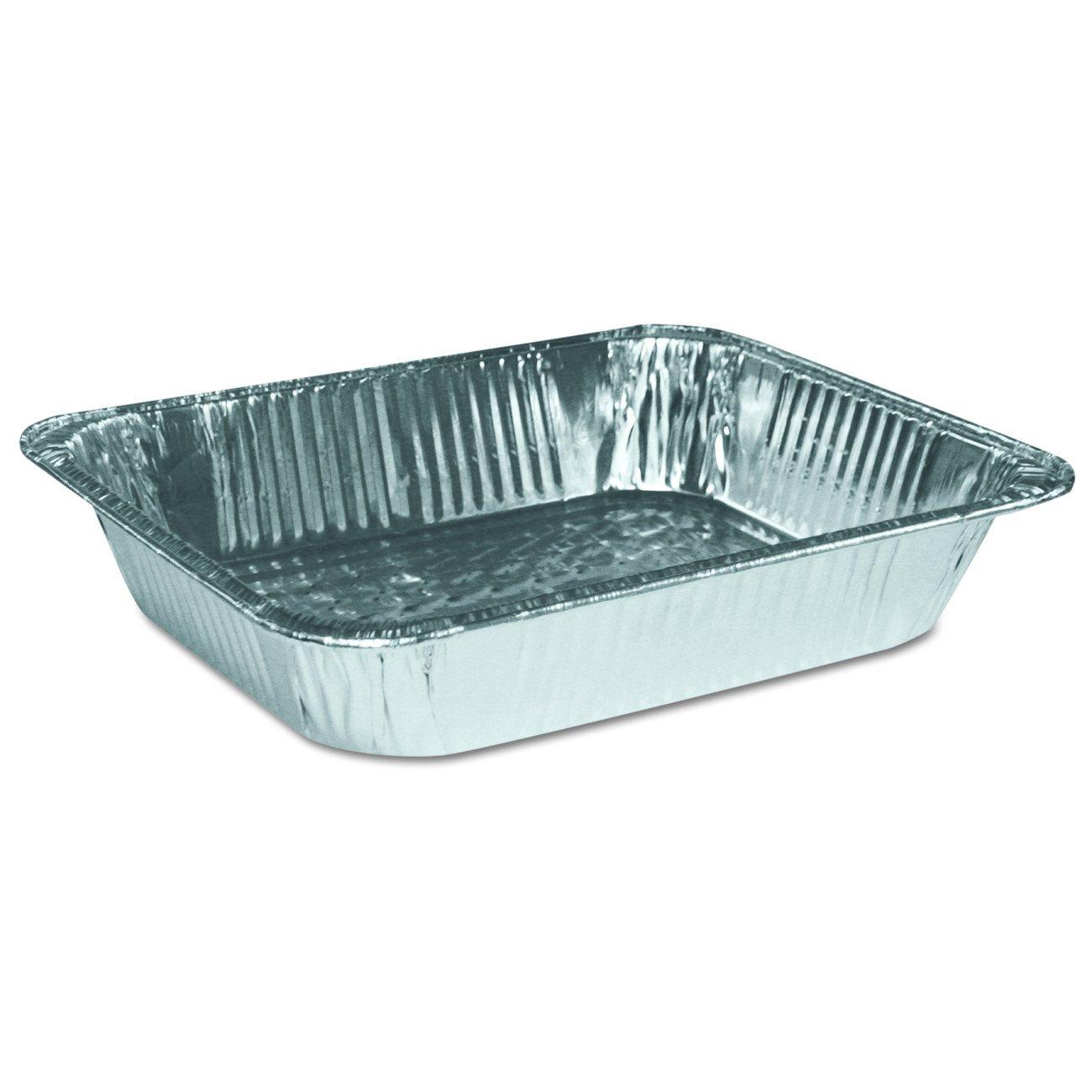 Boardwalk BWK STEAMHFDP Aluminum Pan, Half-Size, Steam Table, Deep (Pack of 100)