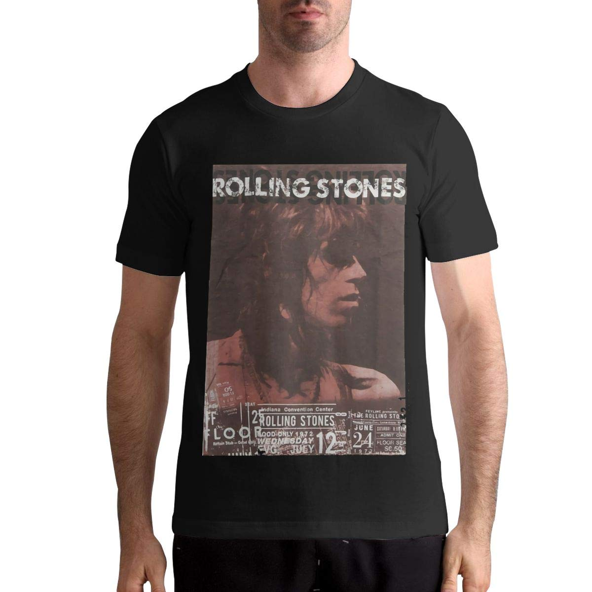 Rolling Stones S Leisure Tee Athletic Shirts