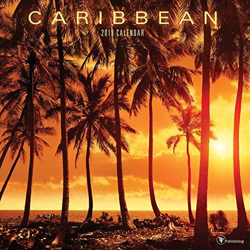 2018 Caribbean  Wall Calendar cover