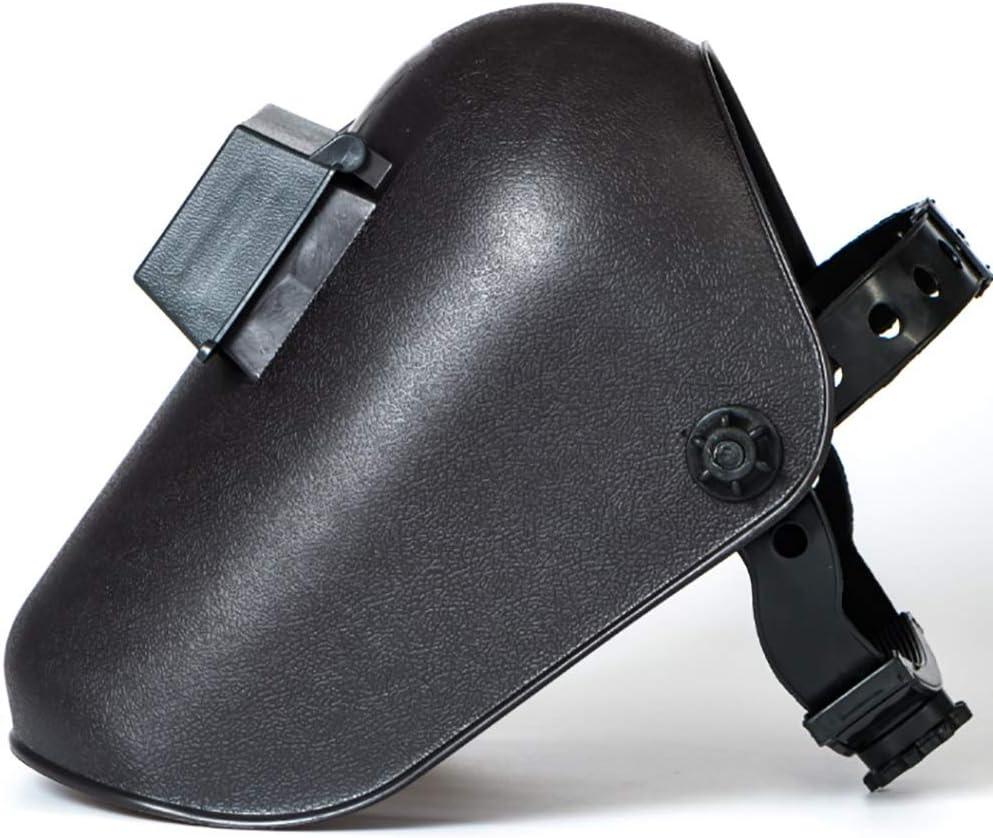 Xiao Jian- Máscara de soldadura: arnés de argón montado en la cabeza Trabajador de soldadura Tapa de soldadura Protección facial completa Protección radiológica Tirón de la cara anti-horneado Casco de