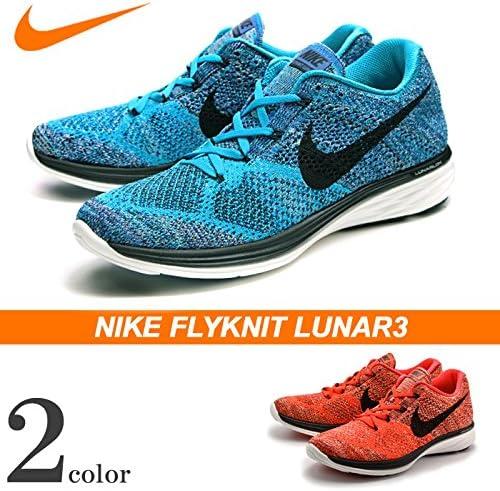 despensa Espantar a la deriva  Nike Flyknit Lunar3 - Zapatillas de running y entrenamiento para hombre,  (negro, blanco, anaranjado,), 46 EU: Amazon.es: Zapatos y complementos