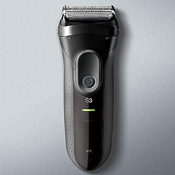 Maquinilla de afeitar eléctrica recargable para hombres, flexible ...