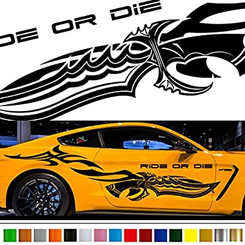 Amazoncom Knife Tribal Car Sticker Car Vinyl Side Graphics Wa - Car sticker decals custom