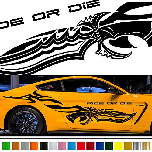 Amazon com knife tribal car sticker car vinyl side graphics wa59 car vinylgraphic car custom stickers decals 【8 colors to choose from】 japan quality fast