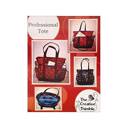 3746129dfee6 Amazon.com  The Creative Thimble Professional Tote Pattern  Home   Kitchen