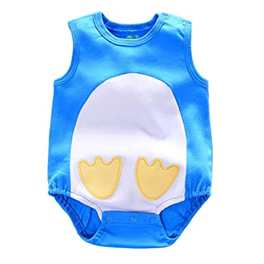 29ae3bce59bb CHshe Newborns Baby Girl Boy Princess Summer Romper Jumpsuit Clothes Party  Outfits Clothes for 0-24 Months  Amazon.co.uk  Clothing