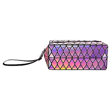 Amazon.com: HIENJOY Bolsas de cosméticos bolsa de maquillaje ...
